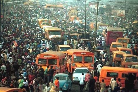 Lagos trafficjam